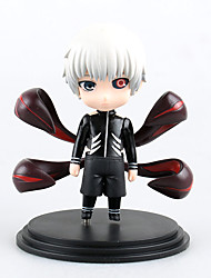 cheap -Anime Action Figures Inspired by Tokyo Ghoul Ken Kaneki PVC(PolyVinyl Chloride) 11 cm CM Model Toys Doll Toy