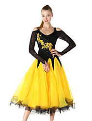 cheap -Shall We Ballroom Dance Dresses Women Crystals/Rhinestones 1 Piece Dress
