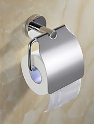 Set di accessori per il bagno Porta rotolo di carta igienica / Lucidatura a specchio Acciaio inossidabile /Contemporaneo