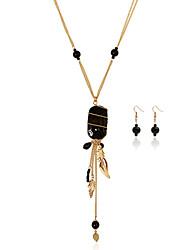 economico -Da donna Set di gioielli Cristallo Matrimonio Feste Quotidiano Casual 1 collana 1 paio di orecchini