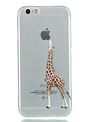 iPhone 7 Plus Giraffe TPU Soft Phone Case For iPhone 6s 6 Plus SE 5s 5