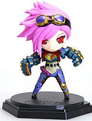 cheap -League of Legends Generation 2 Q Version of the LOL Model Doll Anime Action Figure (6pcs)