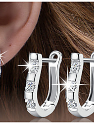 abordables -el clip de oído de plata s925 de gama alta elegante estilo femenino clásico