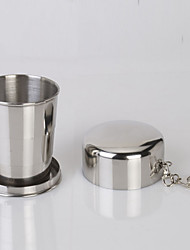 cheap -Camping Cup Single Portable Stainless Steel for