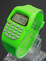 cheap -Kids' Charm Watch Calculator Calendar Quartz Digital Candy color Cool Watches Unique Watches Strap Watch