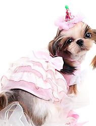 Cachorro Fantasias Roupa Vestidos Roupas para Cães Fantasias Fashion Dia Das Bruxas Riscas Desenhos Animados Cinzento Amarelo