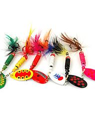 cheap -6pcs pcs Fishing Lures Buzzbait & Spinnerbait Metal Spinning / Freshwater Fishing / General Fishing