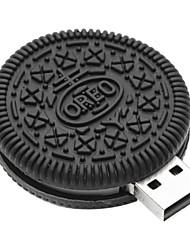 baratos -zpk38 unidade de memória USB 32gb pequena biscoitos de chocolate 2.0 Flash u vara
