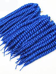 blue Havana Twist Braids Hair Extensions 22-24inch Kanekalon 2 Strand 80g/pcs gram Hair Braids