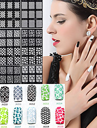 20pcs Nail Art naljepnica 3D Nail Naljepnice šminka Kozmetički Nail art dizajn