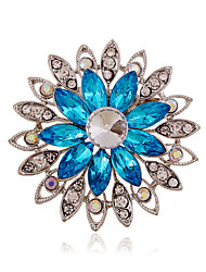cheap -Alloy/Rhinestone/Acrylic Brooch/Fashion All-match Hollow Flower brooch/Wedding/Party/Daily 1PC