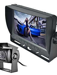 cheap -RenEPai® 7 Inch Monitor Wireless 170°HD Bus Car Rear View Camera + Bus High-Definition Wide Angle Waterproof CMD Camera