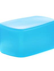 nuovo silicone flessibile A3 flash di rimbalzo diffusore softbox bianco + giallo + blu per Nikon SB900 / sb910 mk-910