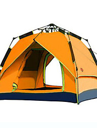 CAMEL 3-4 persons Tent Double Camping Tent One Room Automatic Tent Windproof Ultraviolet Resistant Rain-Proof for Hiking Beach Camping