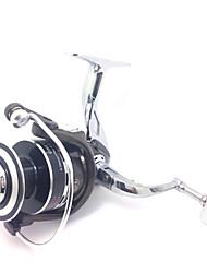All Metal Aluminum Reel 6000 Size 4.9:1 10+1 Ball Bearings Full Metal Sea Fishing Freshwater Fishing Carp Fishing Reel