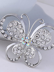 cheap -Women's Cute Party Work Casual Fashion Crystal Cubic Zirconia Alloy Butterfly Animal Jewelry For Wedding Party Special Occasion