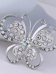 povoljno -Žene Slatko Zabava Posao Ležerne prilike Moda Kristal Kubični Zirconia Legura Rukav leptir Sa životinjama Jewelry Za Vjenčanje Party