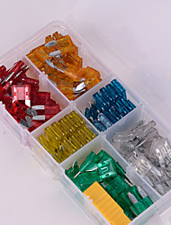 cheap -Iztoss 120pcs Mini Assorted Set Kit Blade Fuse Car Auto Motorcycle Boat