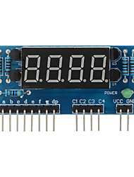 """economico -4 cifre anodo comune 0,36 """"modulo display digitale per Raspberry Pi Arduino + - blu"""