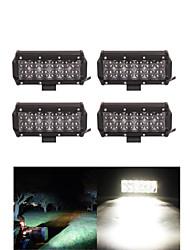 Недорогие -4x 60w вел свет работы бар внедорожный 12v 24v АТВ пятно внедорожный для грузовиков 4x4 утв