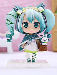 cheap -Anime Action Figures Inspired by Vocaloid Hatsune Miku PVC 16 CM Model Toys Doll Toy