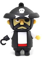 baratos -zpk07 8gb usb estilo cartoon pirata unidade de memória flash de 2.0 um pedaço u vara