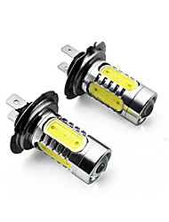 cheap -2PCS H3 H4 H7 H8 H11 1156 1157 7.5W 700lm 5 x COB LED 700lm 6500k White Light LED For Car Headlamp (DC10~24V)