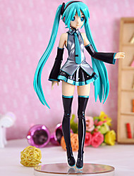 cheap -Anime Action Figures Inspired by Vocaloid Hatsune Miku PVC 21.5 CM Model Toys Doll Toy Women's New Hot