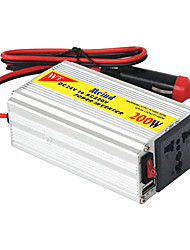 cheap -200W Meind Power Inverter 12V to 220V