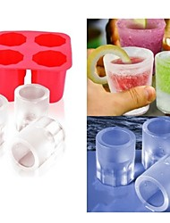 cheap -Cup Mold Ice  DIY Pops Mould Popsicle Molds Yogurt Ice Box Fridge Frozen Treats Freezer(Ramdon Color)