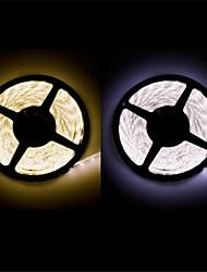 abordables -Bandes Lumineuses LED Flexibles 300 LED Blanc Chaud Blanc Découpable Imperméable Auto-Adhésives Connectible DC 12V