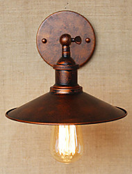 cheap -Minimalist Industrial-Style Villa In Front Of The Church Aisle Nostalgic Umbrella Red Bronze Decorative Wall Sconce
