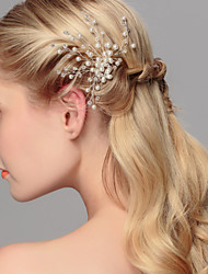 cheap -Pearl Hair Pin Headpiece