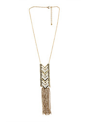cheap -Women's Pendant Necklace Y-Necklace  -  Golden Necklace For Party Daily Casual