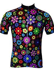 economico -JESOCYCLING Per donna Manica corta Maglia da ciclismo Bicicletta Maglietta / Maglia, Asciugatura rapida, Resistente ai raggi UV,