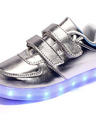 cheap -LED Light Up Shoes,Unisex Kid Boy Girl Upgraded Patent Leather Sport Shoes Flashing Sneakers USB Charge
