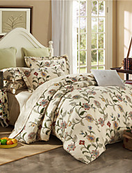 cheap -Chinese Egyptian Cotton Bedding Set Queen King Double Bed Size