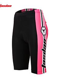 baratos -TASDAN Mulheres Bermudas Acolchoadas Para Ciclismo Moto Shorts / Shorts Roupa interior / Shorts Acolchoados Tapete 3D, Secagem Rápida,