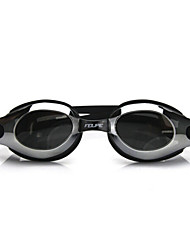 Недорогие -FEIUPE плавательные очки Жен. / Муж. / УниверсальныеПротиво-туманное покрытие / Водонепроницаемый / Регулируемый размер / УФ-защита /