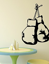 cheap -Sport Boxing Handbag Wall Sticker For Boys Room Diy Decoration Removable Art Home Decor Mural Wallpaper Poster Decals