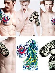 controllare il migliore manica tatuaggi mezzo per gli uomini (2 pezzi)