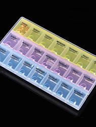 Недорогие -горячей продажи 21 сетки съемная пластиковая коробка для хранения стразы искусства ногтя случай