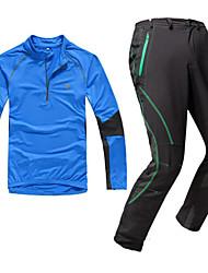 KORAMAN Calça com Camisa para Ciclismo Homens Manga Longa Moto Camiseta Camisa/Roupas Para Esporte Conjuntos de Roupas Secagem Rápida