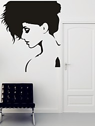 Romantik / Mode / Abstrakt / Fantasie Wand-Sticker Flugzeug-Wand Sticker,PVC M:42*47cm / L:55*62cm