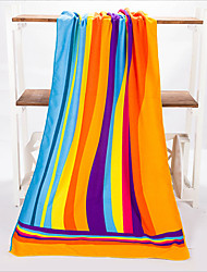 Fashion Rainbow Beach Towel,27.5 by 55 inch