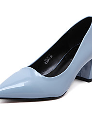 cheap -Women's Heels / Pointed Toe / Closed Toe Heels Wedding / Party & Evening Dress /  Blue/Black