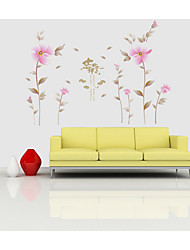 9026 New Wall Stickers Factory Wholesale Scenery Flowers That Can Remove The Wall Stickers For Living Rooms