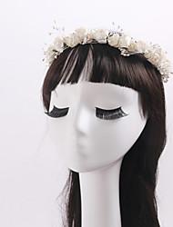 imitation perle tissu couronnes bandeau classique style féminin