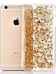 baratos -Capinha Para Apple iPhone 8 / iPhone 8 Plus / iPhone 6 Plus Transparente Capa traseira Glitter Brilhante Macia TPU para iPhone 8 Plus / iPhone 8 / iPhone 6s Plus