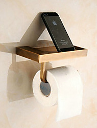 abordables -Soporte para Papel Higiénico Moderno Latón 1 pieza - Baño del hotel